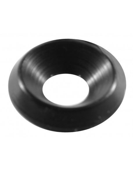 Washer 8 countersunk black
