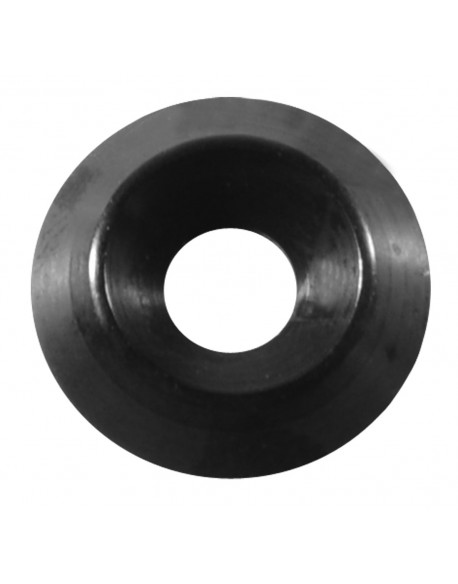 Washer M 6 countersunk black
