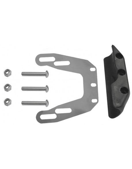Rear brake disc guard kit 2012