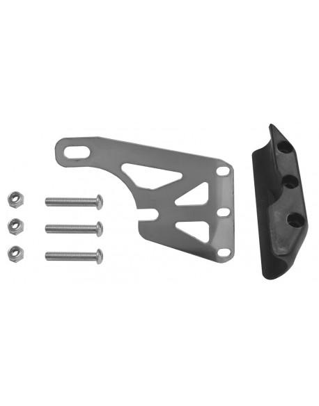 Rear brake disc guard kit