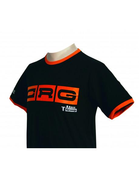T-Shirt CRG nera&arancio