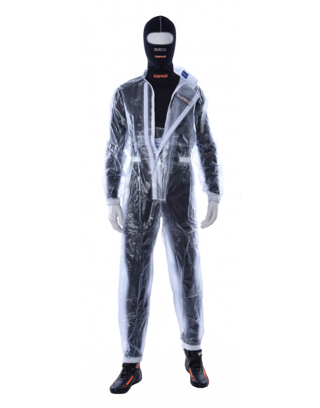 Racing suit for rain