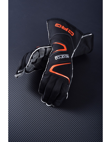 Kart gloves black long