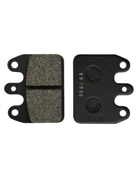 Rear brake pad V05-V09-V11 black