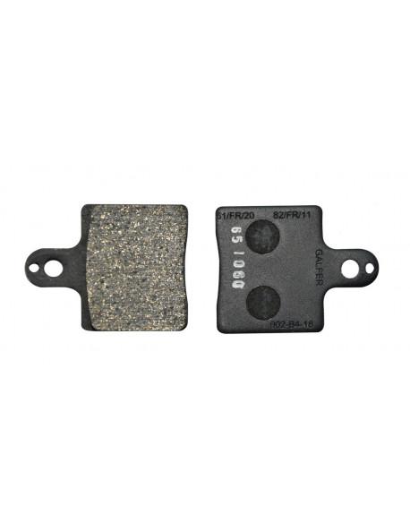 Front brake pad V05-09-11 black