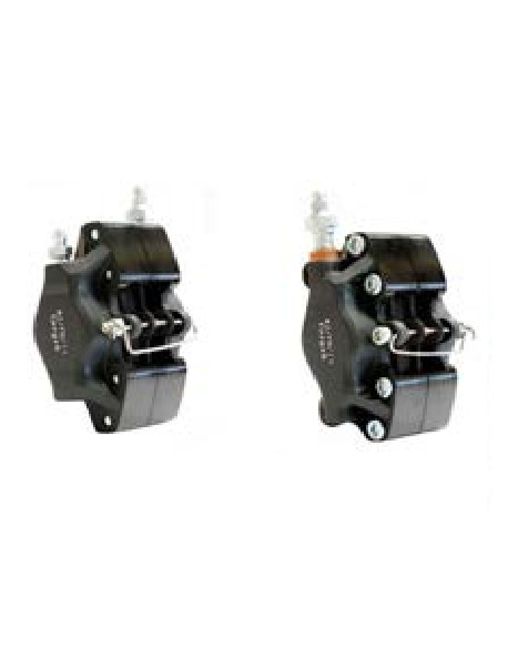 Front brake caliper V09-11 G L. black compl