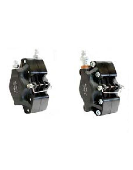 Front brake caliper V09-11 G R. black compl