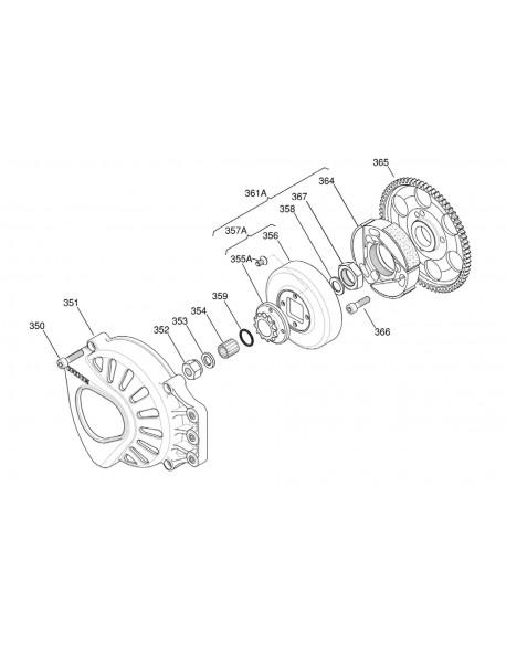 IAME X30 125cc clutch cover
