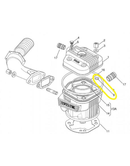 IAME X30 tie-rod O-ring