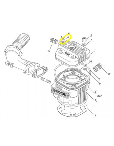 IAME X30 probe cap gasket