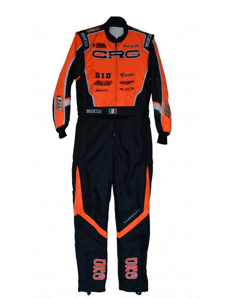 Official sponsored CRG overall 2020 orange