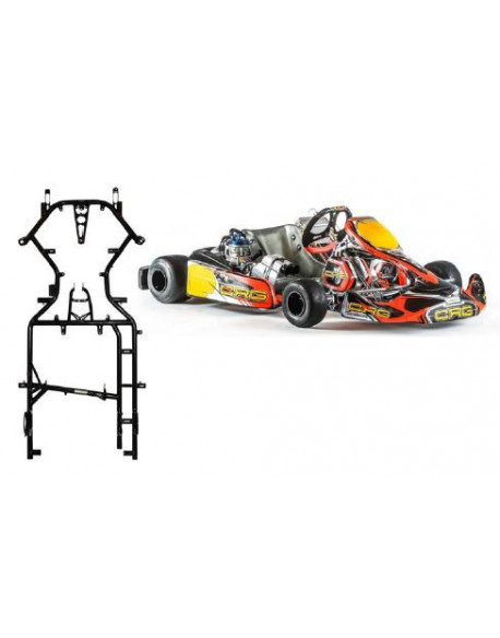 Chassis KT4 Rotax 2018, brake Ven 11/192 MG