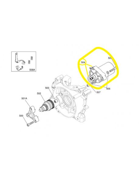 Original starter motor for IAME X30 engine