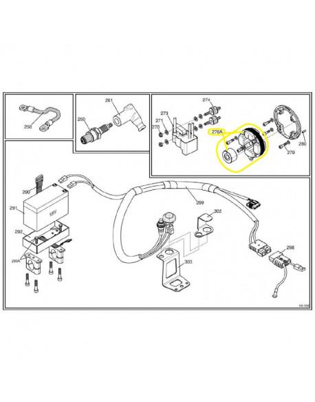 Accensione selettra per motore IAME X30 125cc e 175cc SUPER X30 (dal 2016)