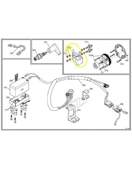 Bobina/centralina digitale K per motore IAME X30 125cc e SUPER 175cc (dal 2016)