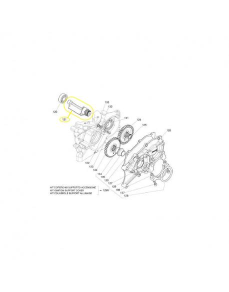 Albero di equilibramento per motore IAME X30 125cc (contralbero)