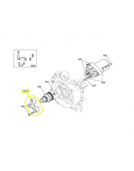 Bendix support for IAME X30 125cc and 175cc engines