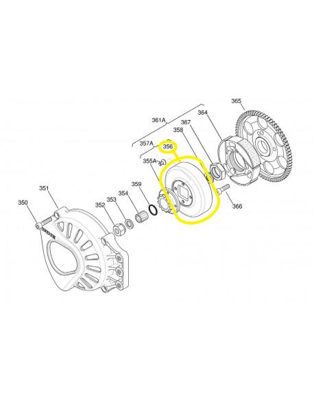 Calotta frizione per motore IAME X30 125