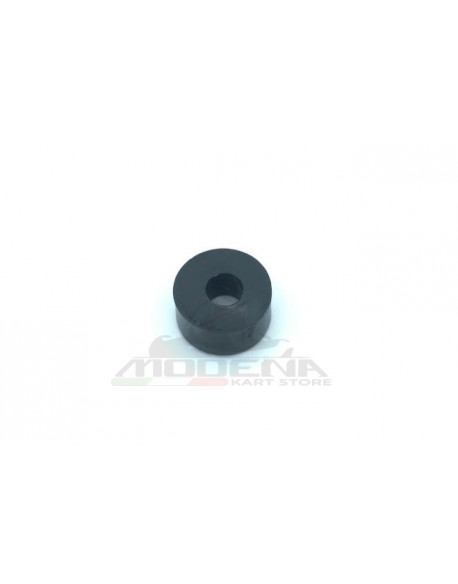 Nylon washer D.27mm, hole 10mm, h.14mm black