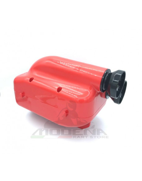 Silenziatore d'Aspirazione NOX 2 D.30mm Rosso/Nero (KZ/KZ2)