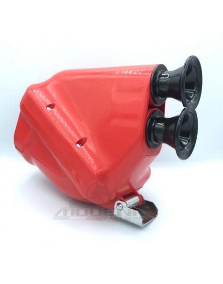 Silenziatore d'Aspirazione Active New D.30mm Rosso/Nero (KZ-KZ2)