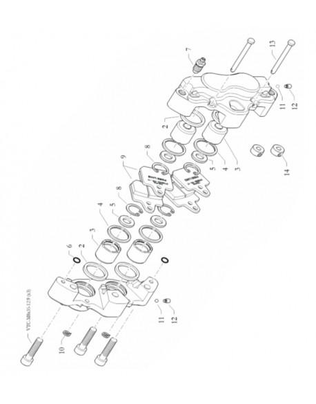 DRAIN SCREW CALIPER G 1/8