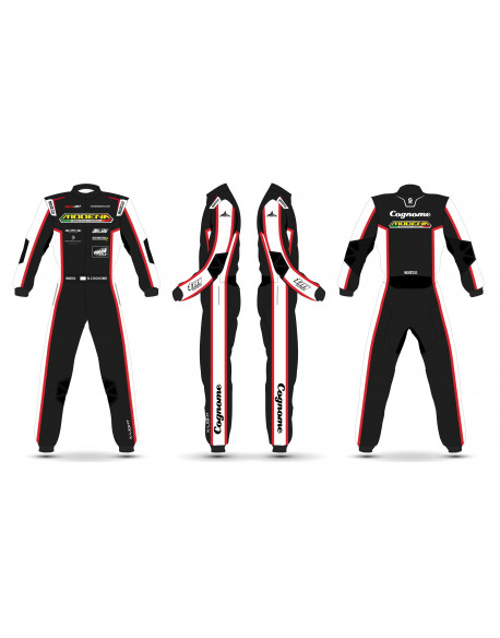 CUSTOMIZED MODENA KART SUIT 2020