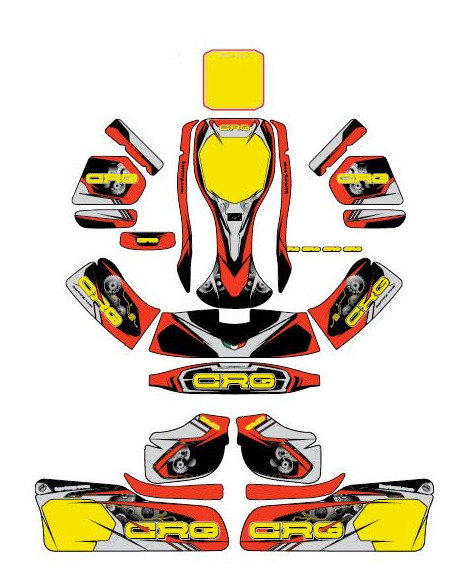 Stickers kit complete CRG 2018 NA3