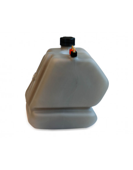 Fuel tank LT.8,5 KF complete fumè