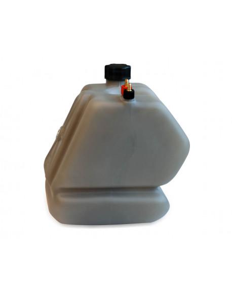 Fuel tank LT.8,5 KZ complete fumè