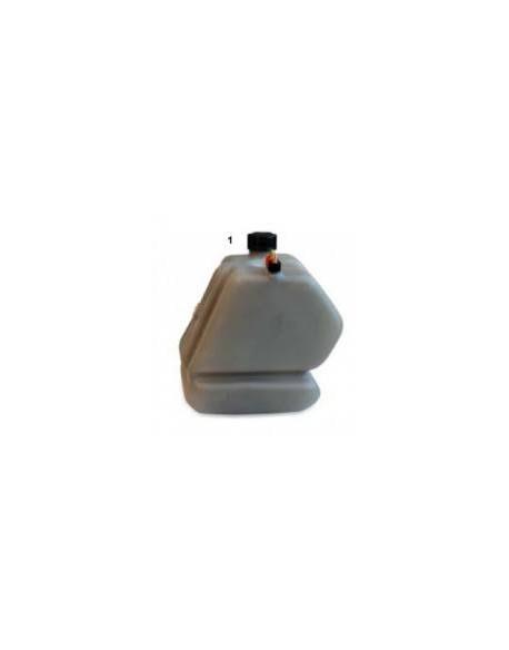 Fuel tank LT.3,5 mini complete fumè