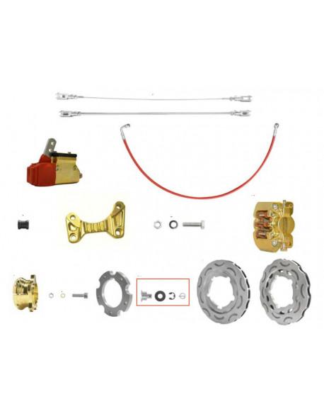 Brake system OKJ V09 195 gold