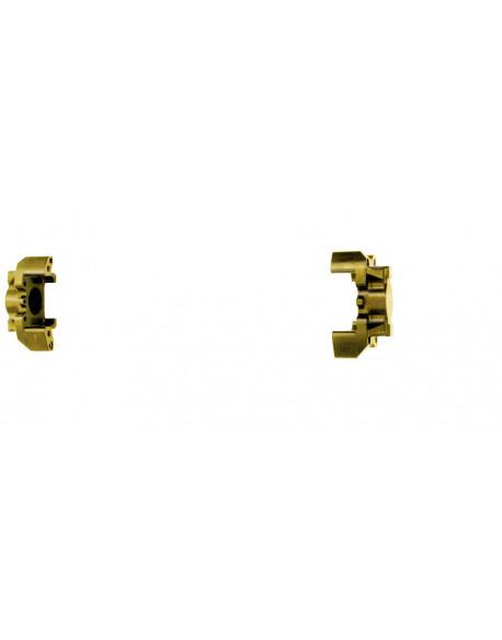 Half rear brake caliper V09/V10 30 gold