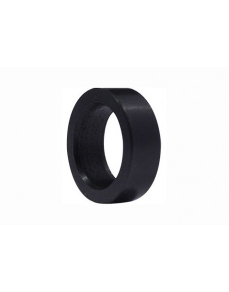 Stub axle spacer 8mm black