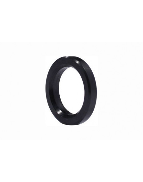 Stub axle spacer 25 4mm black
