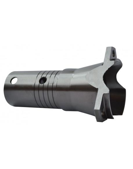Metal front brake disc hub V04 25 compl.
