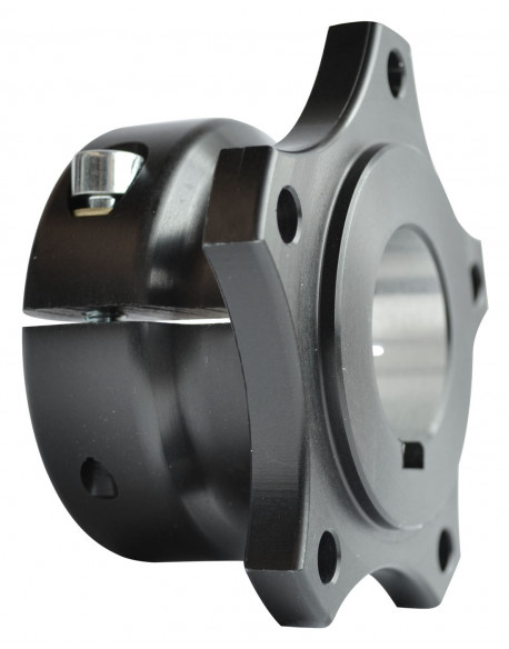 Rear brake disc hub V04 30 al. complete