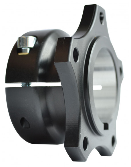 Rear brake disc hub V04 40 al. complete