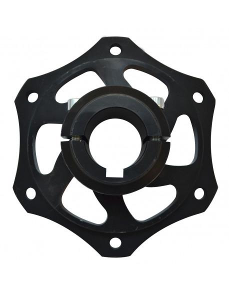Alu. rear brake disc hub 30 V08 complete