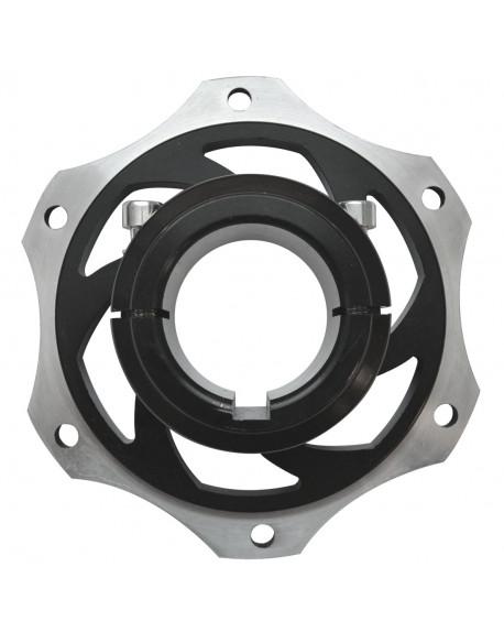 Alu. rear brake disc hub 40 V08 complete