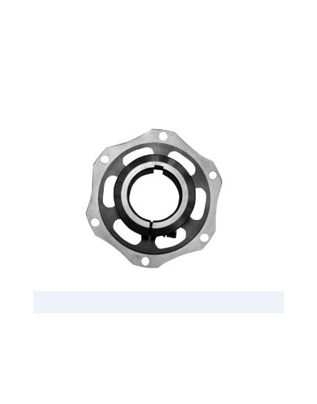 Rear brake disc hub Puffo 45 al. complete