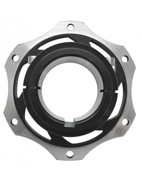 Alu. rear brake disc hub 50 V08 complete