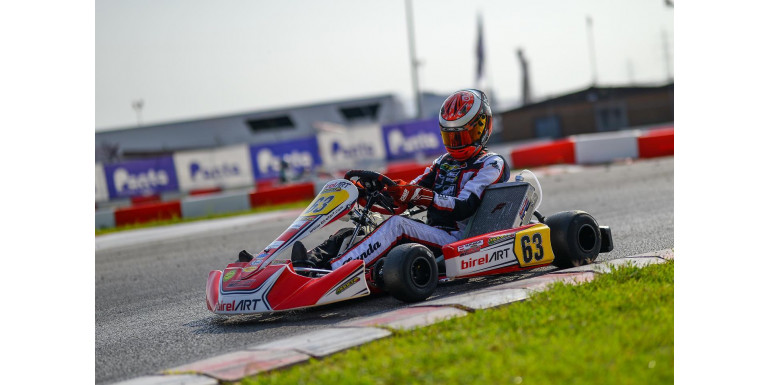 Modena Kart collects useful data during the WSK weekend in Lonato