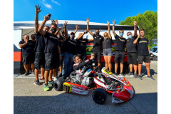 MODENA KART GRADUATES ITALIAN NATIONAL KZ OVER CHAMPION WITH ANDREA SPAGNI