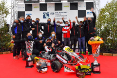 Modena Kart Champion with Cunati victory in the KZ2 International Super Cup